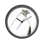 Grey Stag Wall Clock