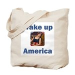 Wake Up America Tote Bag