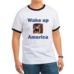 Wake Up America Ringer T