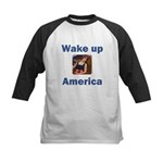 Wake Up America Kids Baseball Jersey