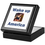 Wake Up America Keepsake Box