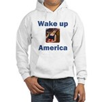 Wake Up America Hooded Sweatshirt