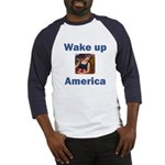 Wake Up America Baseball Jersey