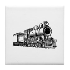 Vintage Train 1 Tile Coaster