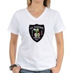 Customs NJ Specops Women's V-Neck T-Shirt
