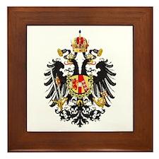 Imperial Austrian Framed Tile