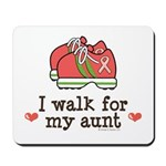 Breast Cancer Walk Aunt Mousepad