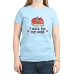 Breast Cancer Walk Aunt Women's Light T-Shirt