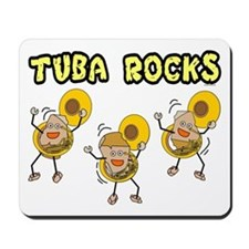 Tuba Rocks Mousepad