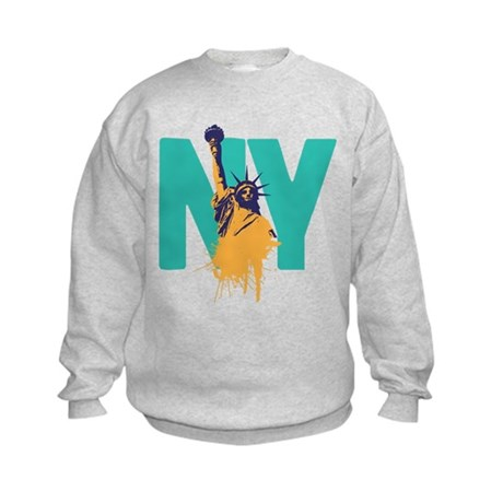 New York Lady Liberty Kids Sweatshirt