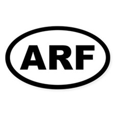 ARF Oval Sticker (10 pk)