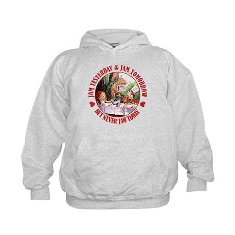 THE MAD HATTER'S RULES Kids Hoodie