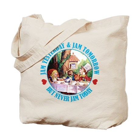 THE MAD HATTER'S RULES Tote Bag