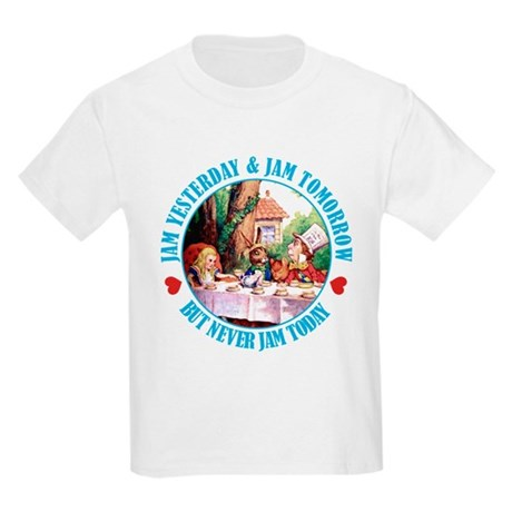 THE MAD HATTER'S RULES Kids Light T-Shirt