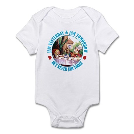 THE MAD HATTER'S RULES Infant Bodysuit