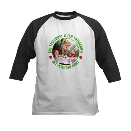 THE MAD HATTER'S RULES Kids Baseball Jersey