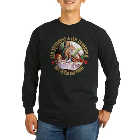 THE MAD HATTER'S RULES Long Sleeve Dark T-Shirt