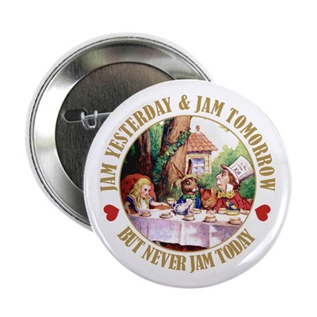 "THE MAD HATTER'S RULES 2.25"" Button"