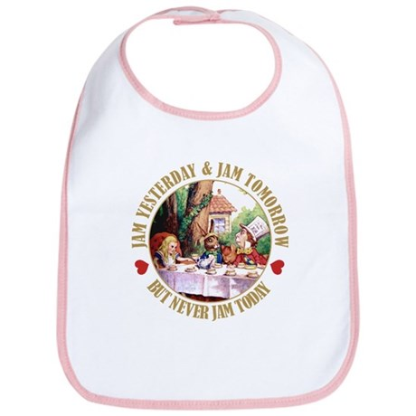 THE MAD HATTER'S RULES Bib