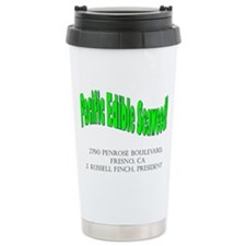 Pacific Edible Seaweed Ceramic Travel Mug