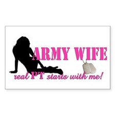 Real PT (army) Rectangle Decal