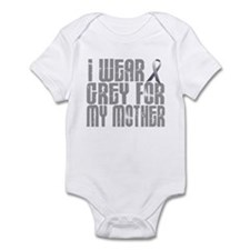 I Wear Grey For My Mother 16 Infant Bodysuit