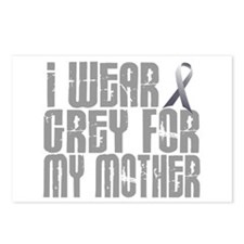 I Wear Grey For My Mother 16 Postcards (Package of