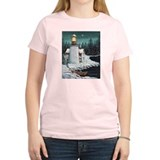 Christmas Lighthouse T-Shirt