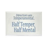 Temperamental Director Rectangle Magnet (10 pack)