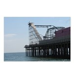 Roller Coaster Pier Postcards (Package of 8)