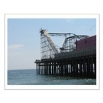 Roller Coaster Pier Small Poster