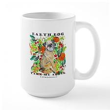 Tan Brussels Griffon Mug