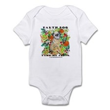 Tan Brussels Griffon Infant Bodysuit