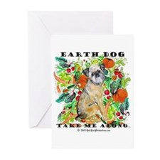 Tan Brussels Griffon Greeting Cards (Pk of 10)