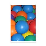 Balls of Every Color Mini Poster Print