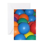 Balls of Every Color Greeting Cards (Pk of 10)