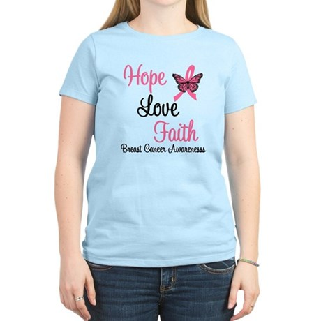 Breast Cancer Hope Women's Light T-Shirt