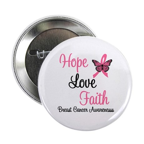 "Breast Cancer Hope 2.25"" Button"