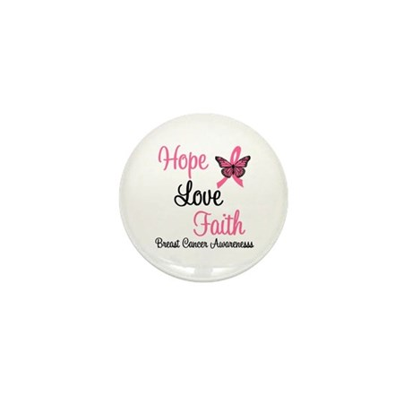 Breast Cancer Hope Mini Button