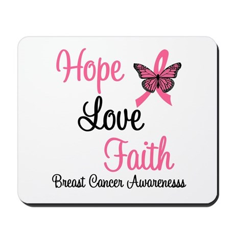 Breast Cancer Hope Mousepad
