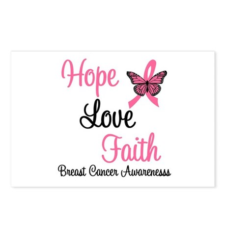 Breast Cancer Hope Postcards (Package of 8)
