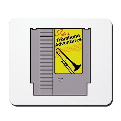 Super Trombone Adventures Mousepad