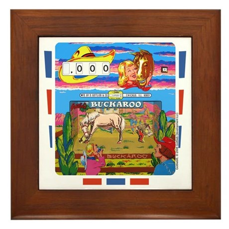 "Gottlieb® ""Buckaroo"" Framed Tile"