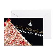 Peppermint Bark Greeting Card