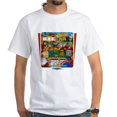 "Gottlieb® ""Central Park"" White T-Shirt"