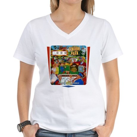 "Gottlieb® ""Central Park"" Women's V-Neck T-Shir"