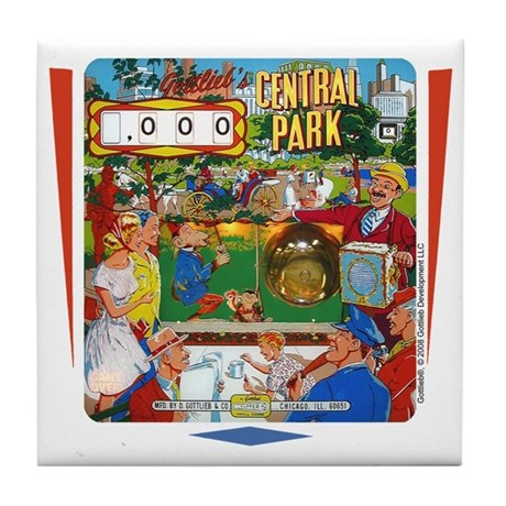 "Gottlieb® ""Central Park"" Tile Coaster"