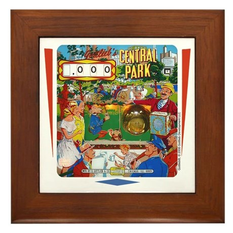 "Gottlieb® ""Central Park"" Framed Tile"