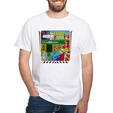 "Gottlieb® ""Cross Town"" White T-Shirt"