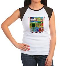 "Gottlieb® ""Cross Town"" Women's Cap Sleeve T-Sh"